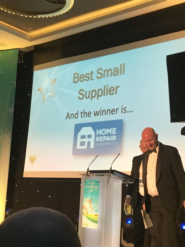 HRNL Wins Best Small Supplier at the LV Supplier Awards